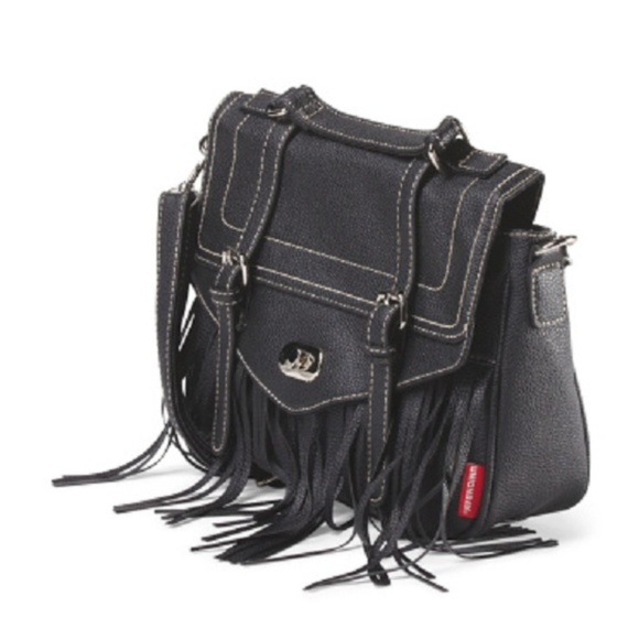 UNIONBAY Handbags - NWT Unionbay Fringe Top Handle Crossbody Bag